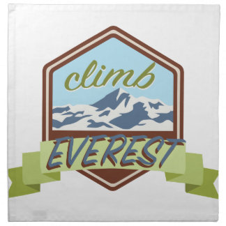 上昇エベレスト ナプキンクロス