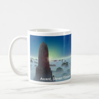 上昇、上昇、上昇、スティーブンヴィンチェンツォジョンソン、… コーヒーマグカップ