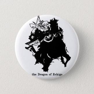 上杉謙信 Uesugi Kenshin 5.7cm 丸型バッジ