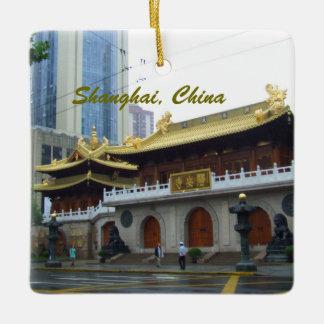 上海の中国のヒスイの寺院 セラミックオーナメント