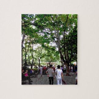 上海の中国のポスター ジグソーパズル