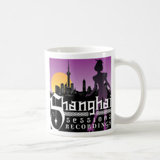 上海の会議の録音のマグ コーヒーマグカップ
