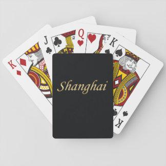 上海の金の英語-黒の… トランプ