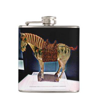 上海の馬の芸術 フラスク