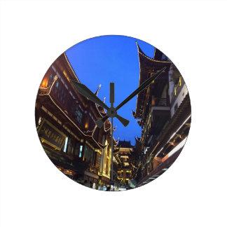 上海 ラウンド壁時計