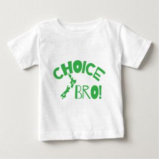 上等のBro (キーウィのニュージーランドの地図) ベビーTシャツ