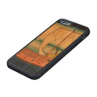 上総国の海上ルート CarvedチェリーiPhone 6バンパーケース