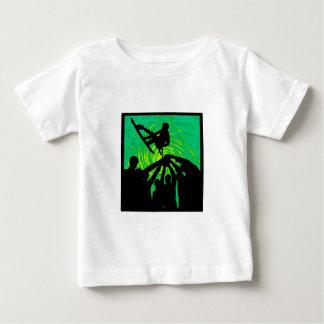 上記に上昇 ベビーTシャツ
