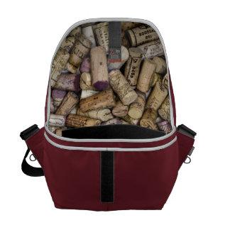 上質ワインのコルク メッセンジャーバッグ