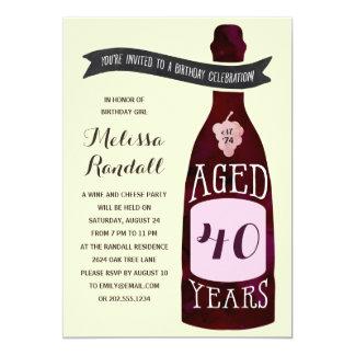 上質ワイン|の誕生会のように老化すること カード