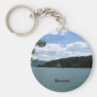 上部のババリアの湖 キーホルダー