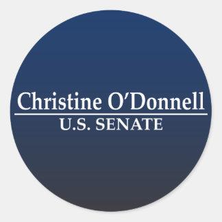上院のためのクリスティーンO'Donnell ラウンドシール