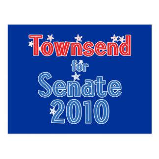 上院2010の星のデザインのためのジェイTownsend ポストカード