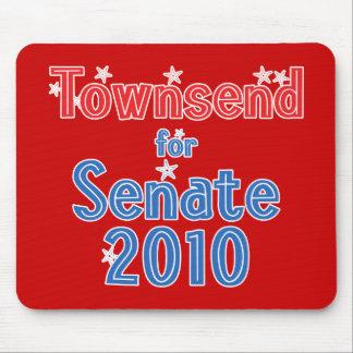 上院2010の星のデザインのためのジェイTownsend マウスパッド