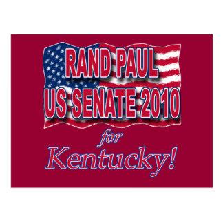 上院2010 Tシャツおよびボタンのためのランドポール ポストカード