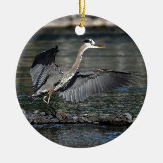 上陸の素晴らしい青鷲の野性生物の鳥の写真3 セラミックオーナメント