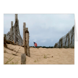 上陸海岸表示旗 カード