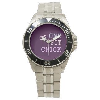 上1の適当なひよこ 腕時計