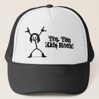 上10のロッカーのトラック運転手の帽子 キャップ
