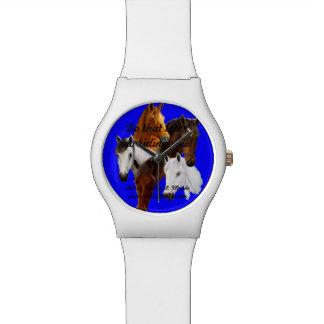 上、blkの執筆、白いバンドで執筆を見て下さい 腕時計