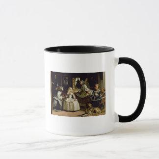 下半分の描写のLas Meninasの詳細 マグカップ