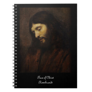 下方に見ているイエス・キリスト ノートブック