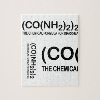 下痢のパズルのためのおもしろいな化学式 ジグソーパズル