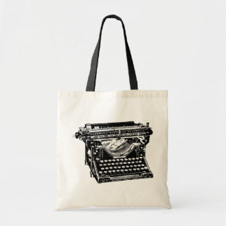 下草のタイプライターの作家 トートバッグ