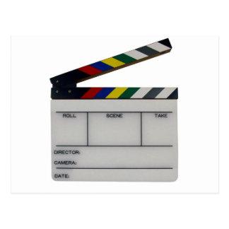 下見板映画映画製作者の石板 ポストカード