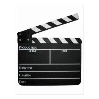 下見板映画石板のクラッパーのフィルム ポストカード