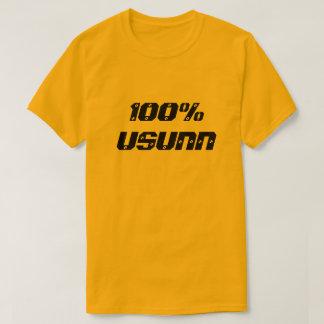 不健康な100% Usunn  100% Tシャツ