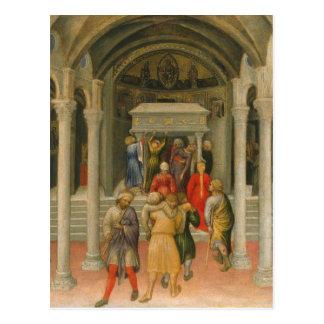 不具にされるおよび病人セントニコラスの墓で治されて ポストカード