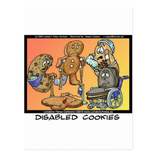 不具のクッキーのおもしろいなインターネットのギフトのティーのマグ ポストカード