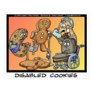 不具のクッキーのおもしろいなギフト及び収集品 ポストカード