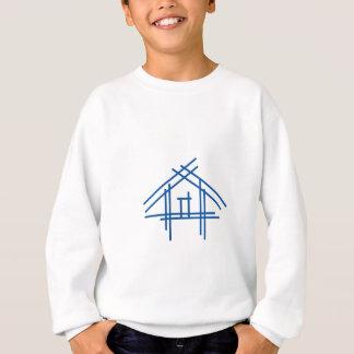 不動産の家 スウェットシャツ