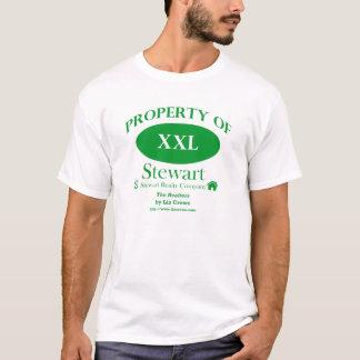 不動産仲介業者-ステュワートの不動産の特性 Tシャツ