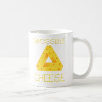 不可能なチーズ コーヒーマグカップ