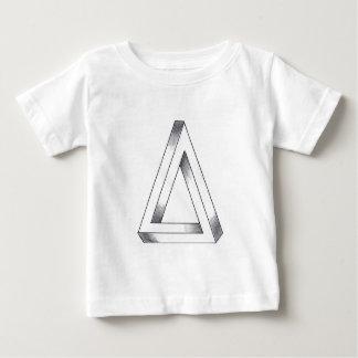 不可能な三角形 ベビーTシャツ