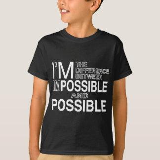 不可能な何も Tシャツ
