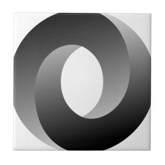 不可能な円の目の錯覚 タイル