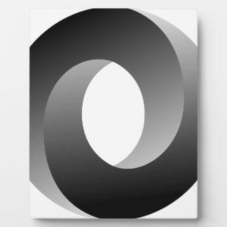 不可能な円の目の錯覚 フォトプラーク