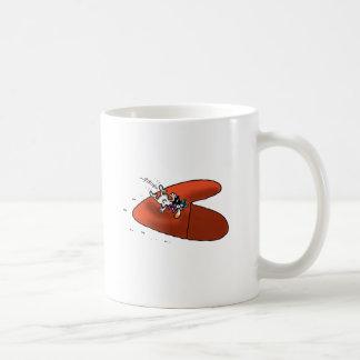 不可能な愛-愛トラップ コーヒーマグカップ