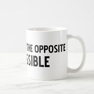 不可能可能の反対はです コーヒーマグカップ