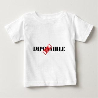 不可能: されたTシャツ ベビーTシャツ