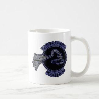 不名誉な足車 コーヒーマグカップ