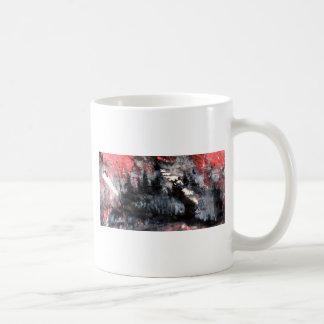 不安定なマッチ棒 コーヒーマグカップ