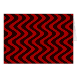 不安定な波(黒か赤) カード