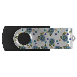 不完全で青い花 USBフラッシュドライブ