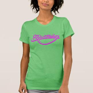 不完全なネオンピンク Tシャツ