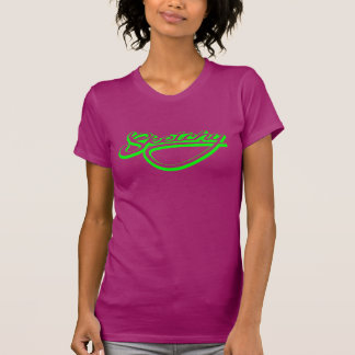 不完全なネオン緑 Tシャツ